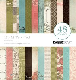 Kaisercraft Generations 12x12 Paper Pack