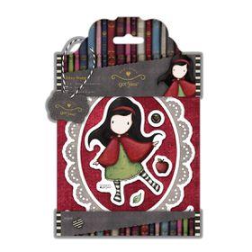 Docrafts Gorjuss Rubber Stamp - Little Red (10 Pieces)