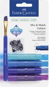 Faber-Castell Gelatos - 4 Shades of Blue