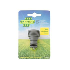 Lasher Tools - Hose Fitting Male Connector - 19Mm