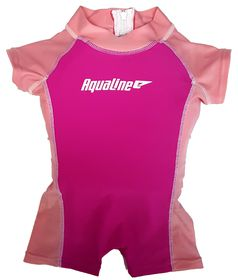 Aqualine - Girls Float Suit - Size: 2-3 years