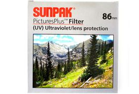 Sunpak 86mm UV Filter