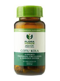 Flora Force Gotu Kola - 60 Capsules