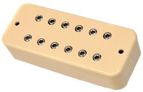 DiMarzio DP209CR Super Distortion P-90 Humbucker Electric Guitar Pickup - Cream