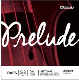 D'Addario Prelude Medium Tension 3/4 Double Bass Strings