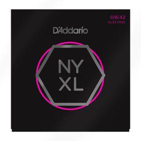 D'Addario NYXL0942 Nickel Wound Super Light Electric Guitar Strings - 09-42