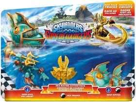 Skylanders Racing Pack (Sea) (Deep Dive Gill Grunt + Reef Ripper + Villain Sea Trophy) (Wave 1)