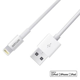 Astrum USB To 8pin Sync & Charge Cable - White