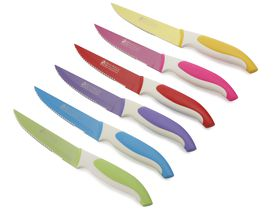 Maxwell and Williams Slice & Dice 6 Piece Steak Knife Set