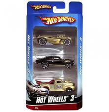 Hot Wheels Ess Bsc Intl 3-Pck*Assorted. Colours and styles may vary*