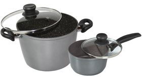 Stoneline - Cooking Pot Set - 4 Piece