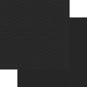 Lady Pattern Paper Basic Essentials Moroccon Trellis - Onyx Black (10 Sheets)