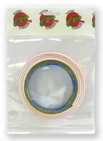Tape Wormz White Double Sided Foam Tape - 1.5mm x 18mm x 1m