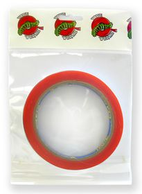 Tape Wormz Red Double Sided High Tack Tape - 6mm x 10m