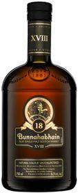 Bunnahabhain - 18 Year Old Islay Single Malt Whisky - Case 6 x 750ml