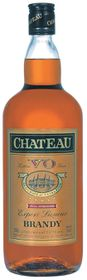 Chateau - VO Brandy Case - 12 x 1 Litre