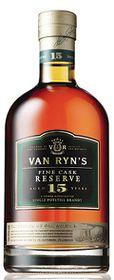Van Ryn's - Fine Cask Reserve 15 Year Old Brandy -  Case 6 x 750ml