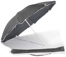St Umbrella - Beach Umbrella - Black