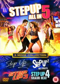 Step Up 1-5 (DVD)