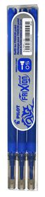 Pilot Frixion Point Erasable Pen Refills - 0.5mm Blue (3 Pack)