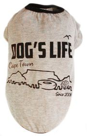 Dog's Life - Cape Town 2006 Grey - Medium