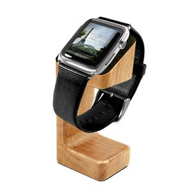 Tuff-Luv Moulded Charging Stand Wood for Apple Watch (Oak Effect)