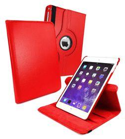 Tuff-Luv Rotating Sleep Case for iPad Mini 4 - Red