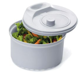 Progressive Kitchenware - Salad Spinner - White