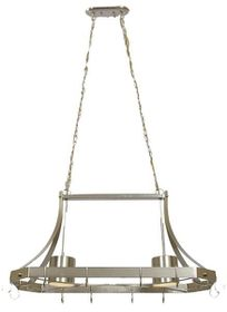 Bright Star Satin Chrome Chandelier