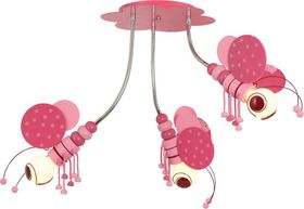 Bright Star - Pink Chandelier - Pink