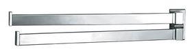 Infinity - Ruby Double Swivel Towel Rail - 34cm