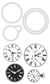 Kaisercraft Cutting Die & Stamp - Clocks