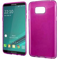 Frost TPU Samsung Note 5 Cover Case - Pink
