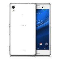 Ultra Thin TPU Cover Case for the Sony Xperia M4 Aqua - Clear