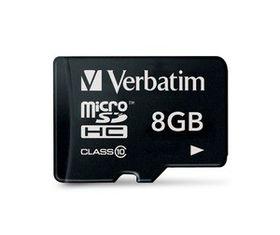 Verbatim 8GB Premium 200x Micro SD Card