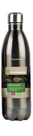 Kaufmann - 1 Litre Stainless Steel Flask Bottle - Grey