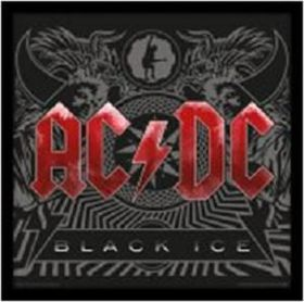 AC/DC - Black Ice Framed Album Cover