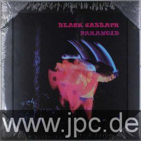 Black Sabbath - Paranoid Framed Album Cover Print