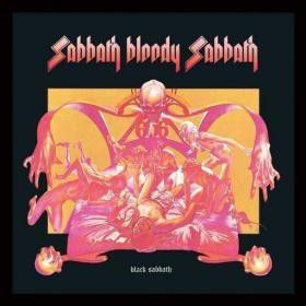 Black Sabbath - Sabbath Bloody Sabbath Framed Album Cover Print