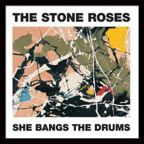 The Stone Roses - She Bangs the Drums Framed Album Cover Print