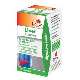 Nativa Liver Complex Capsules - 10s