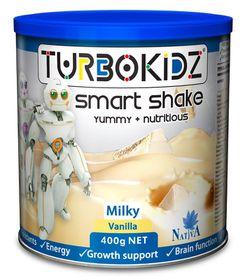 TurboKidz Milk Shake Vanilla - 400g