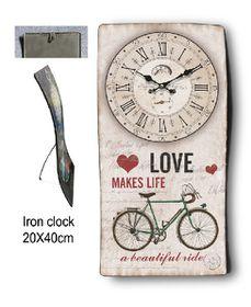 Pamper Hamper Metal Clock - Beautiful Ride