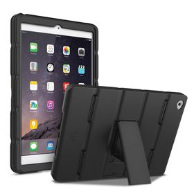 iLuv iPad Dual Material Case iPad Air2 - Black