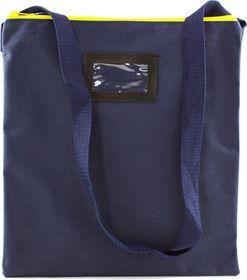 Butterfly Library Book Bag Yellow Zipper - 28 x 33.5cm