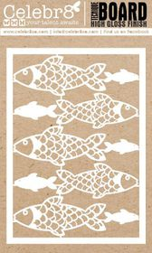Celebr8 Sea Treasures Gloss Technique Board Equi - Fish Scale Patterns