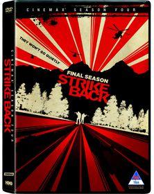 Strike Back: Cinemax Season 4 (DVD)