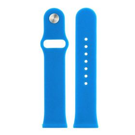 Tuff-Luv Silicone Wrist Watch Strap Band for the Apple Watch Sport - 38mm - Blue