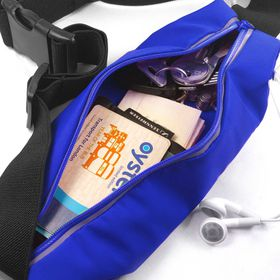 Tuff-Luv Waterproof Sports Runners Waist Bag Pouch for iPhone 6s - Blue