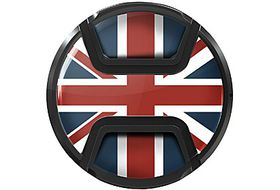 Kaiser Snap On Lens Cap Union Jack 62mm